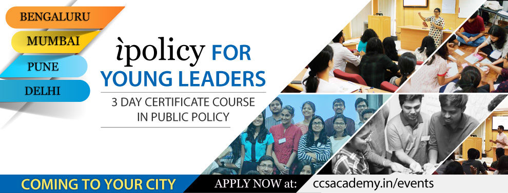 ipolicy for Young Leaders, Mumbai | Bengaluru | Pune | Delhi